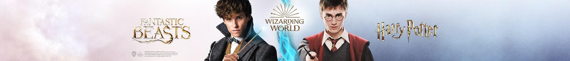 Мерч Wizarding World - атрибутика, подарки, одежда